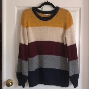 Promesa Color Block Sweater